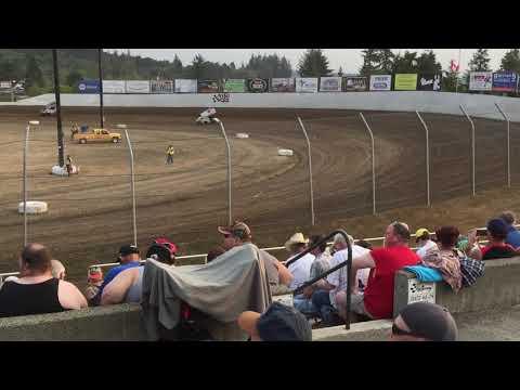 Outlaw hot laps Grays Harbor Raceway