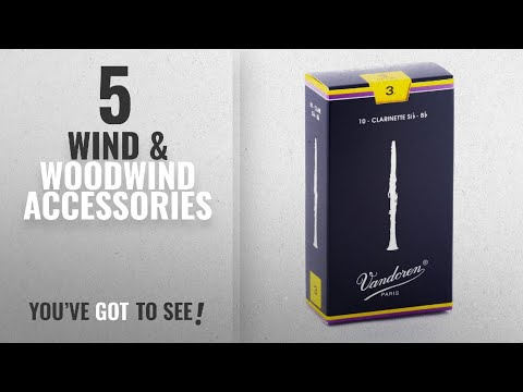 Top 10 Wind & Woodwind Accessories [2018]: Vandoren CR103 Bb Clarinet Traditional Reeds Strength 3;