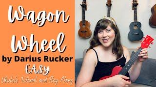 Wagon Wheel by Darius Rucker EASY Ukulele Tutorial and Play Along | Cory Teaches Music