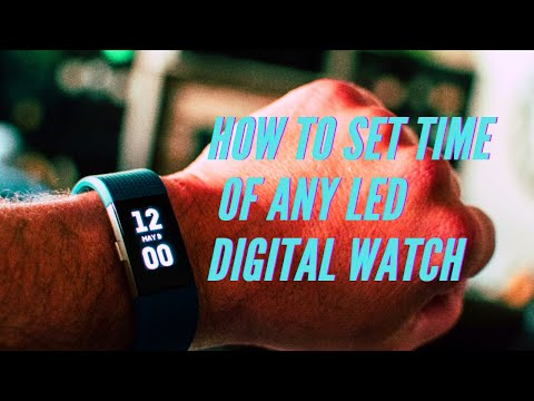 led-digital-watch-rubber-band-review-and-set-up- -gearbest