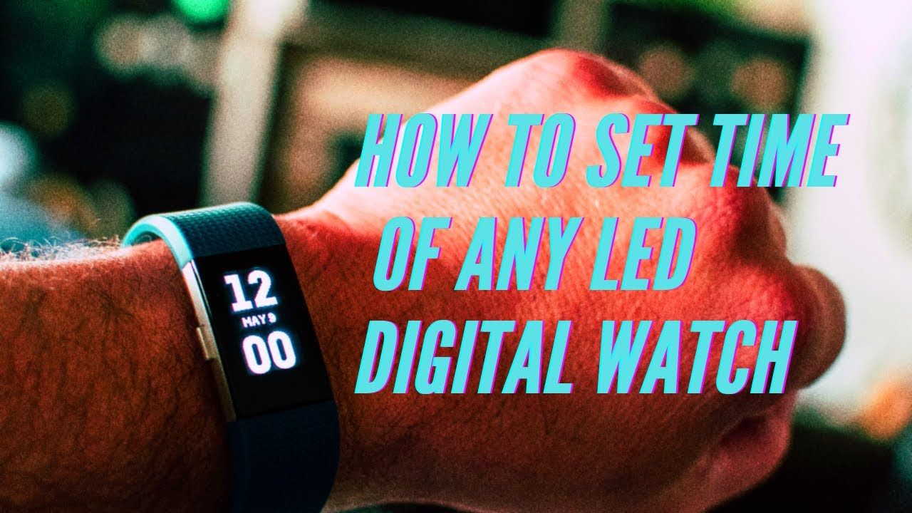 aab1cd864 LED Digital Watch Rubber Band Review and Set-up | Gearbest - YouTube