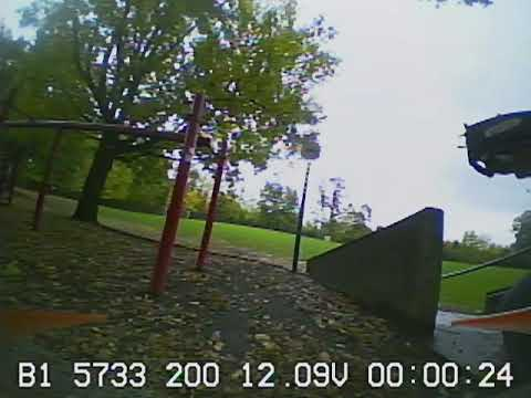 #Portland#whoop#fpv#Torrent110 in the rain, trying to get my slow flow down.