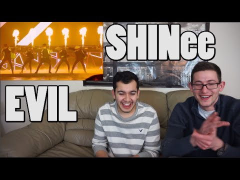 SHINee - Evil Live Performance Reaction