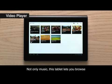 Sony Tablet - Music player & Video player
