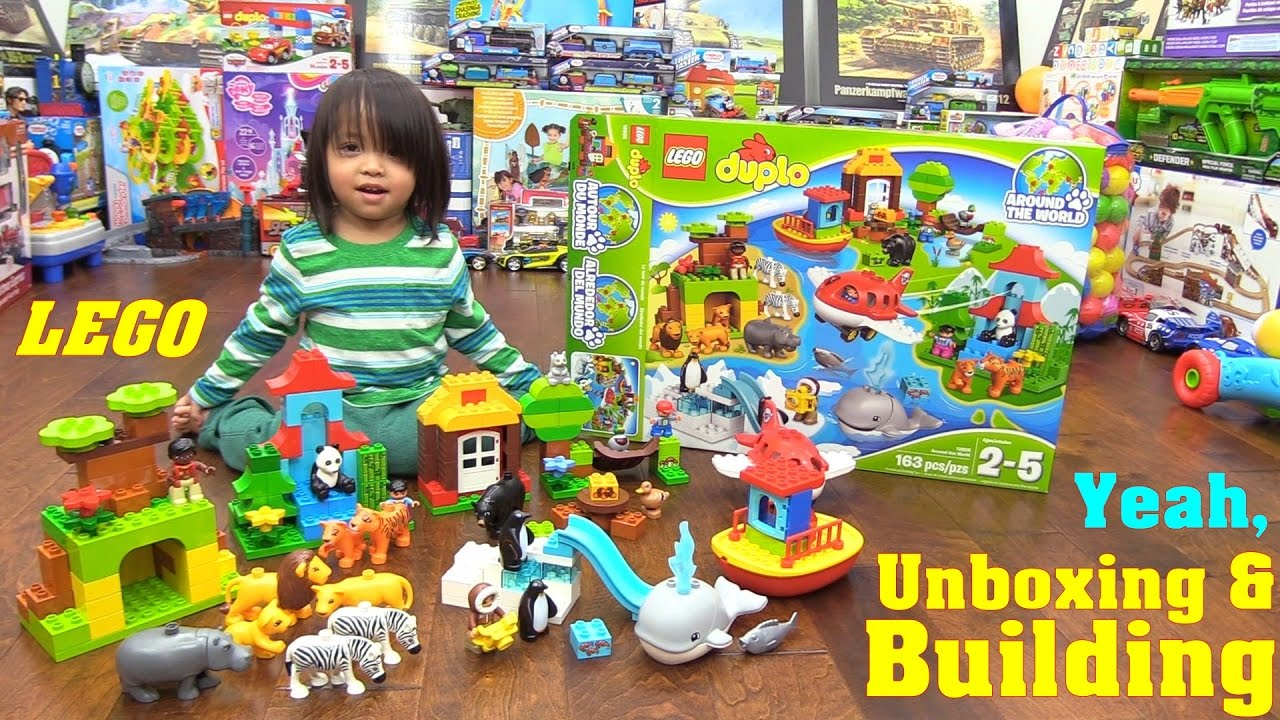Family Toy Review Animal Toys Lego Duplo Around The World Building