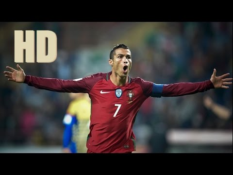 Portugal vs Andorra - Cristiano Ronaldo Super Hat-Trick Goal - World Cup Qualifiers 7/10/2016 HD