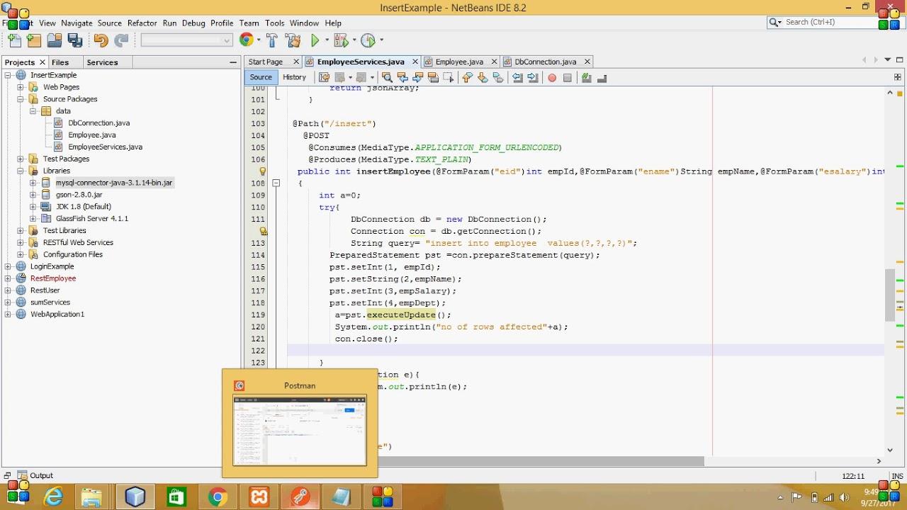 6 Java-REST-POST-Method-Insert-Telugu