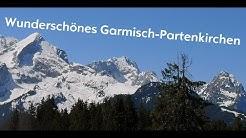 GARMISCH-PARTENKIRCHEN  OSTERN 2019   Mavic Pro Drohne FULL HD  Eibsee und Riessersee von oben!