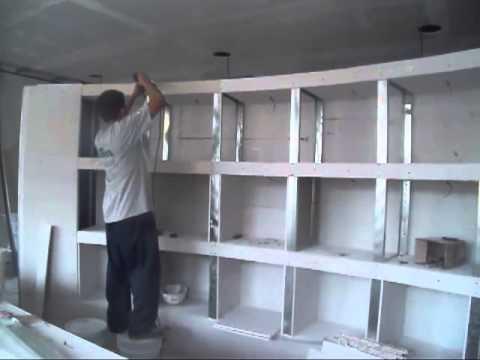 001 muebles de tablaroca 01  YouTube