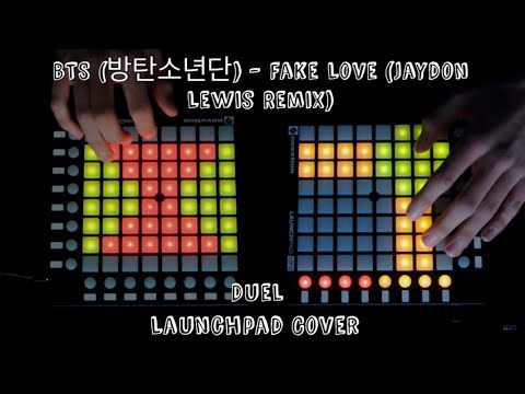 BTS (방탄소년단) - Fake Love Jaydon Lewis Remix (Launchpad Cover)