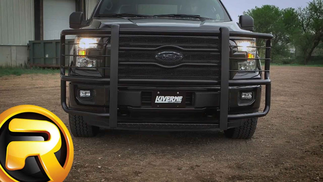Luverne Prowler Max Grille Guard Youtube
