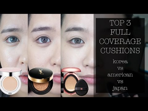 Top 3 Full Coverage Cushions | BB Cushion Reviews