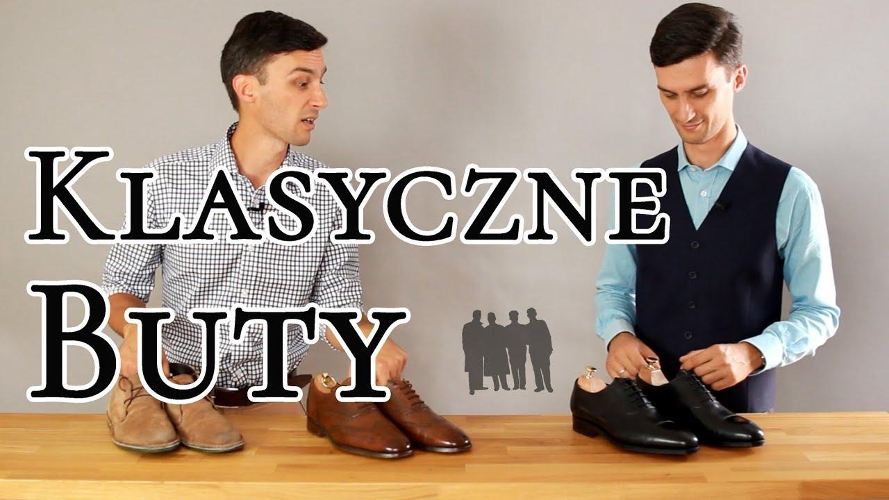 Pierwsze Klasyczne Buty Zmiana Wizerunku Czas Gentlemanow Youtube