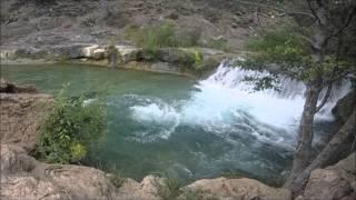 Fossil Creek, AZ - GoPro- Waterfall - 2015