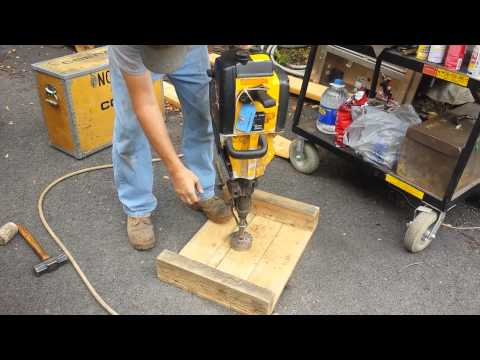 Atlas Copco Cobra 149 Gas Powered Breaker Jack Hammer Chisel Jackhammer Demo