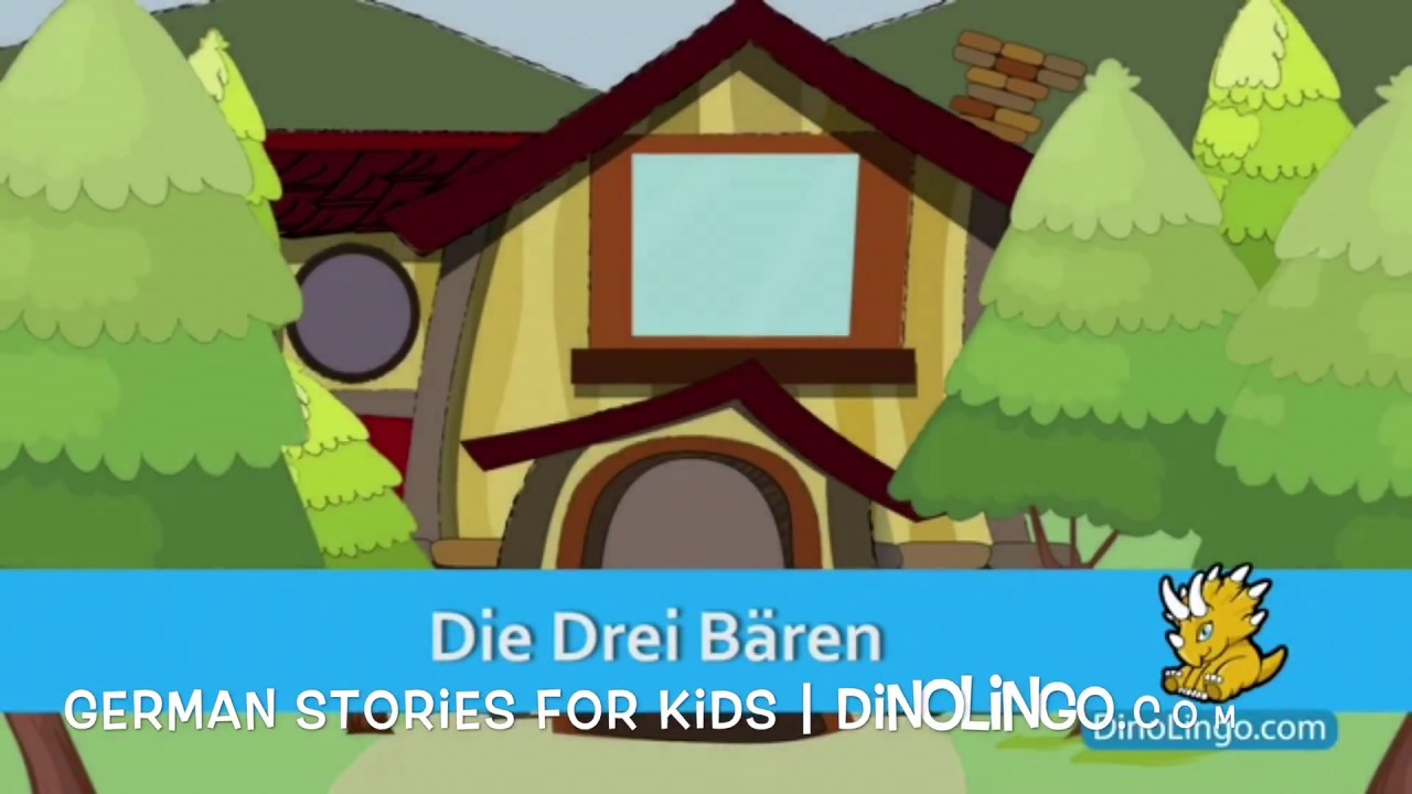 The Three Bears - German stories and books for kids - YouTube