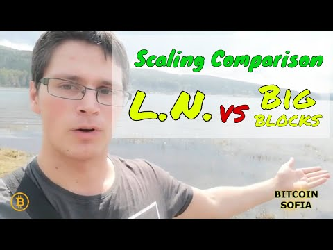 Scaling Comparison : Lightning Network Vs Bitcoin Cash