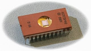 Обзор Микросхема КС573РФ2 СССР 1989 год