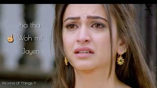 Yeh Mumkin Toh Nahi jo dil chaha tha || Sad Song || With Lyrics || 2018 | All kind of things