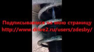 видео Амортизатор Ceed (ED) передний (газ-масло), Kayaba (339258) левый
