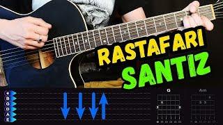 Santiz - Rastafari на гитаре ЛЕГКИЙ разбор от Гитар Ван