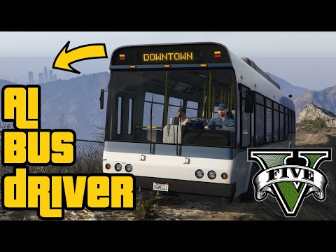 Bus Driver is a long way from Downtown LS (testing driving AI) |