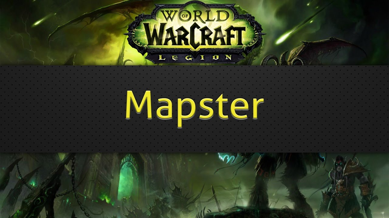 Mapster (WoW map addon)