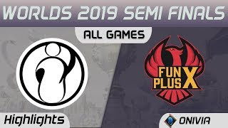 IG vs FPX Highlights All Games Worlds 2019 Semi Finals Invictus Gaming vs FunPlus Phoenix by Onivia