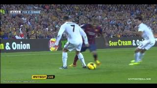 Download Video Dani Alves Owns Cristiano Ronaldo 2013-14 El Classico.HD MP3 3GP MP4