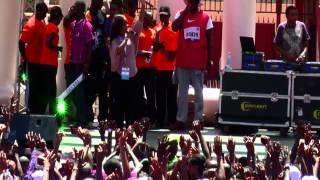 Perfomances at The First Lady's Half Marathon 2015 #iambeyondzero