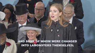 Latin Orator Jessica Rachael Glueck | Harvard Commencement 2017 thumbnail