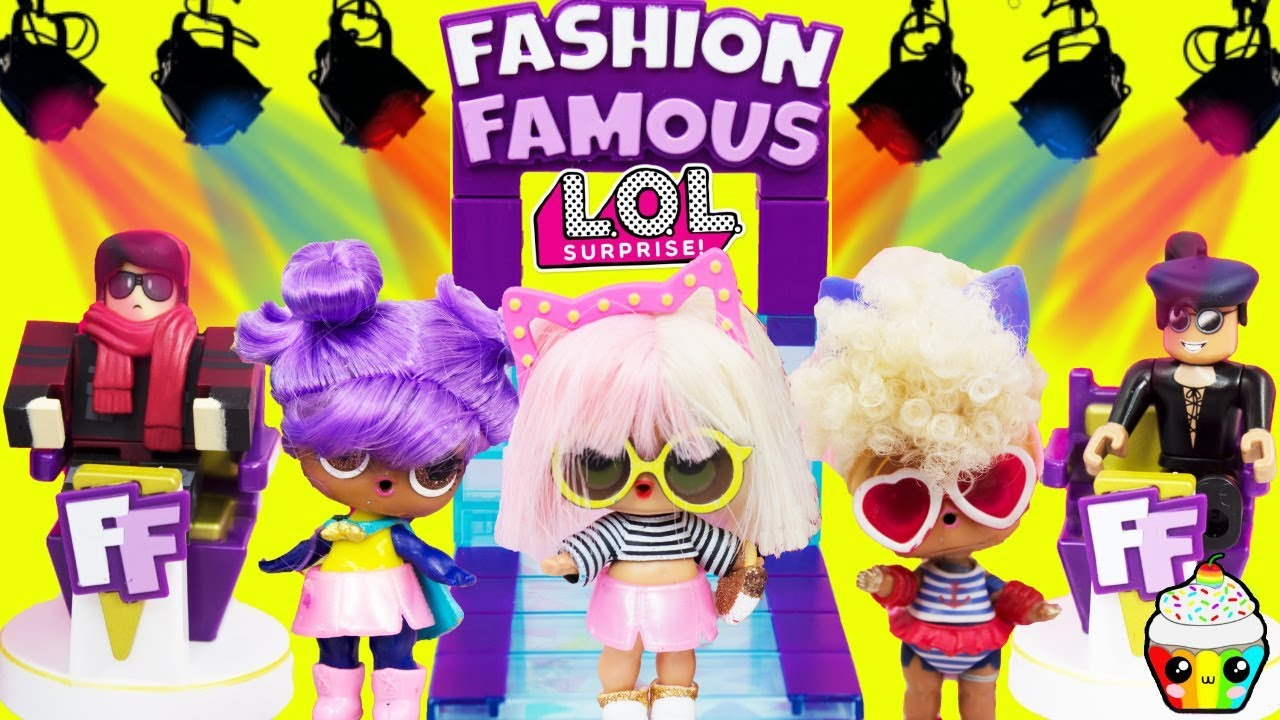Roblox Fashion Famous Lol Edition Lol Dolls Fashion Competition