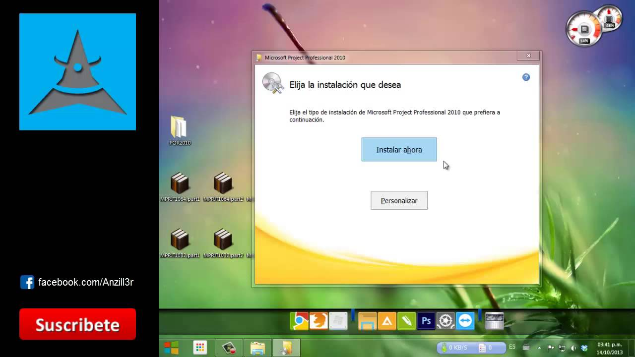 Descargar e instalar Project 2010 32/64 Bits