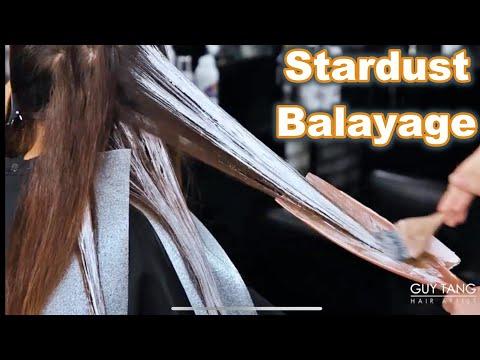 Stardust Zig Zag Balayage Hair Technique
