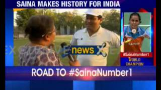 Saina Nehwal scales historic World No.1 ranking