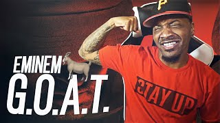 EM BEEN KNEW HE WAS A GOAT!   Eminem - G.O.A.T. (REACTION!!!)