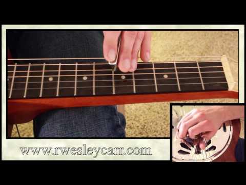 How To Play Amazing Grace. Intermediate Resonator Guitar Lesson