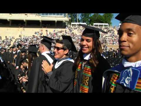 Duke University Commencement Ceremony 2016