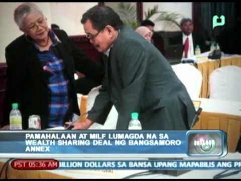 Pamahalaan at MILF, lumagda na sa wealth sharing deal ng Bangsamoro annex