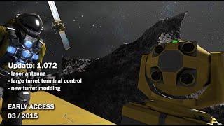 Space Engineers - Update 01.072: Laser Antenna