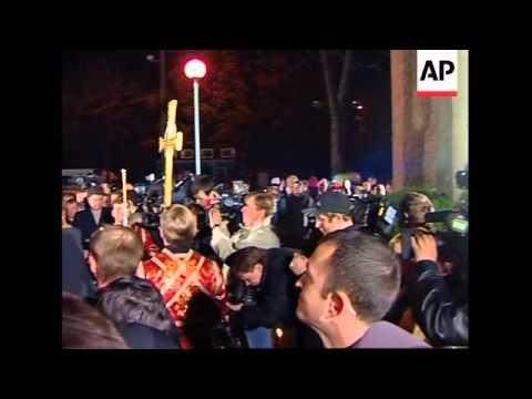 President Yushchenko attends memorial in capital