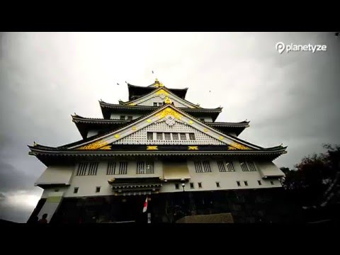 Osaka Castle, Osaka -  enjoy the panoramic view from the top | One Minute Japan Travel Guide