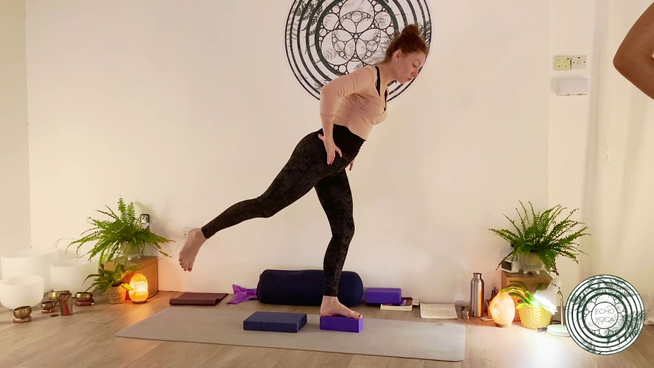 QUICK STANDING PRACTICE  Release the hips and lower back