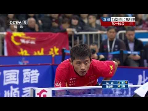2014 China Trials for WTTTC: MA Long Vs ZHANG Jike [HD] [Full Match/Extended Commentary|Awards]