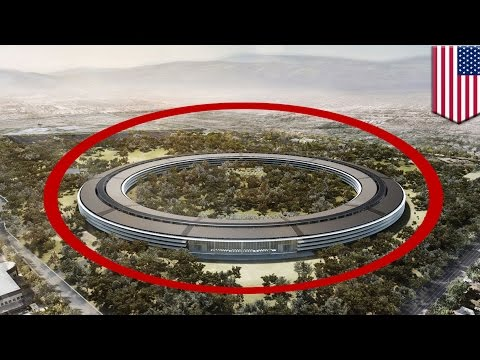 Inside Apple's new $5 billion UFO-like Apple 2 headquarters - TomoNews