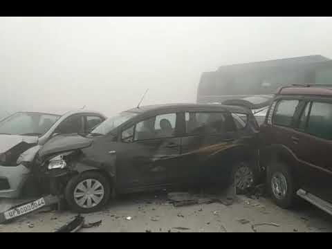 Series of accidents in Delhi due to havey FGO