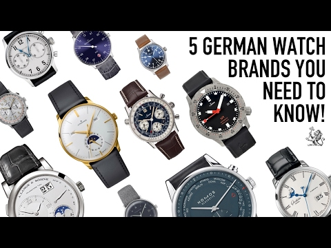 When Only The Best Will Do - 5 German Watch Brands You Need To Know (WWT#78) + Seiko Saturday Winner