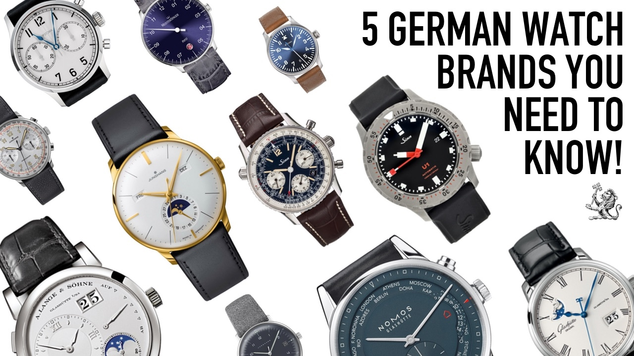 when only the best will do 5 german watch brands you