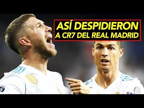 Ramos despidió a CR7 del Real Madrid I Así reaccionaron los jugadores en redes sociales