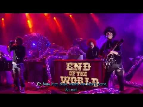 [Karaoke lyrics] SEKAI NO OWARI - Anti-hero (Acoustic Live)